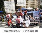 new york city   september 7... | Shutterstock . vector #314653118
