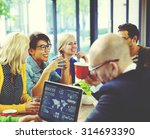 group of diverse cheerful...   Shutterstock . vector #314693390