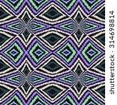rhombus colorful geometric folk ... | Shutterstock . vector #314698814