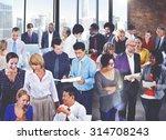 people global communication... | Shutterstock . vector #314708243