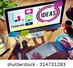 ideas creative thinking... | Shutterstock . vector #314731283