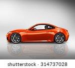 car vehicle transportation 3d... | Shutterstock . vector #314737028