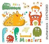 monsters   Shutterstock . vector #314742083