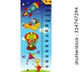 sky height measure in original... | Shutterstock .eps vector #314747294