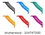 colored ribbon with the... | Shutterstock .eps vector #314747330