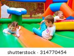 happy kids having fun on... | Shutterstock . vector #314770454