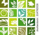 elements of nature | Shutterstock .eps vector #314782028