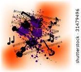 musical instruments background... | Shutterstock .eps vector #31479496