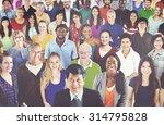 diverse diversity ethnic... | Shutterstock . vector #314795828