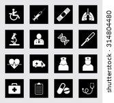 medical icon set | Shutterstock .eps vector #314804480