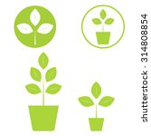 eco icon set | Shutterstock .eps vector #314808854