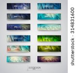 color banners set with... | Shutterstock .eps vector #314831600