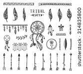tribal vector elements... | Shutterstock .eps vector #314835800