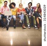 youth friends friendship... | Shutterstock . vector #314843039