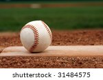 baseball on the mound | Shutterstock . vector #31484575