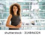 african american businesswoman...   Shutterstock . vector #314846324