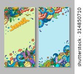 banner templates set with... | Shutterstock . vector #314850710
