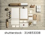 art and craft stationery ... | Shutterstock . vector #314853338
