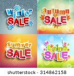 vector illustrations   seasonal ... | Shutterstock .eps vector #314862158