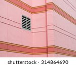 ventilation grille mounted on... | Shutterstock . vector #314864690