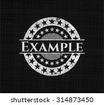 example on blackboard | Shutterstock .eps vector #314873450