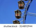 a ferris wheel at the... | Shutterstock . vector #314892944