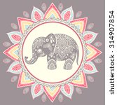 Vintage Graphic Vector Indian...