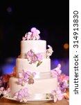 wedding cake | Shutterstock . vector #314913830