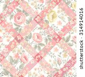 Floral Patchwork Patterns With...