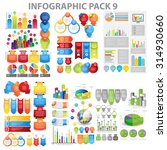 web infographic element pack 9. ... | Shutterstock .eps vector #314930660