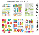 web infographic element pack 10....