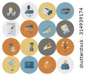 business and finance  flat icon ... | Shutterstock . vector #314939174