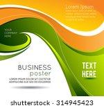 stylish presentation of... | Shutterstock .eps vector #314945423
