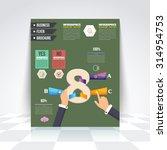 selection infographics design... | Shutterstock .eps vector #314954753