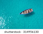 traditional fisher boat in... | Shutterstock . vector #314956130