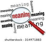 Meaning Word Under A Magnifying ...