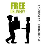 delivery concept shipping icons ... | Shutterstock .eps vector #315006476