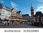 frankfurt  germany   september...   Shutterstock . vector #315020084