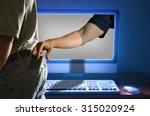 computer identity id theft...   Shutterstock . vector #315020924