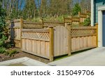 County Style Wooden Fence And...