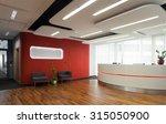 horizontal view of reception in ... | Shutterstock . vector #315050900