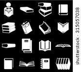 book icons set illustration | Shutterstock .eps vector #315057038