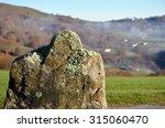 The Mossy Stone Landmark Is...