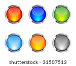 shiny web buttons different... | Shutterstock .eps vector #31507513