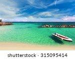 paradise beach in koh maiton... | Shutterstock . vector #315095414