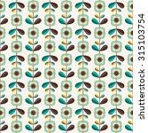 seamless decorative pattern... | Shutterstock .eps vector #315103754