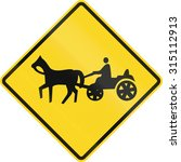 Canadian Road Warning Sign  ...
