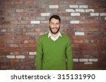 portrait of happy businessman... | Shutterstock . vector #315131990