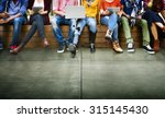 youth friends friendship... | Shutterstock . vector #315145430