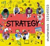 strategy online social media... | Shutterstock . vector #315145523
